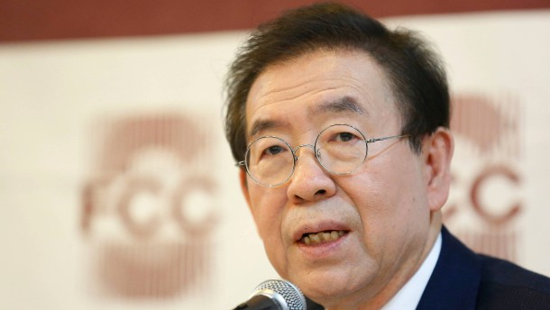 Bürgermeister von Seoul tot aufgefunden