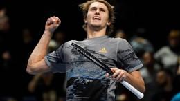 Alexander Zverev zieht souverän in Halbfinale ein