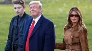 Wortspiel mit Barron erzürnt Melania Trump