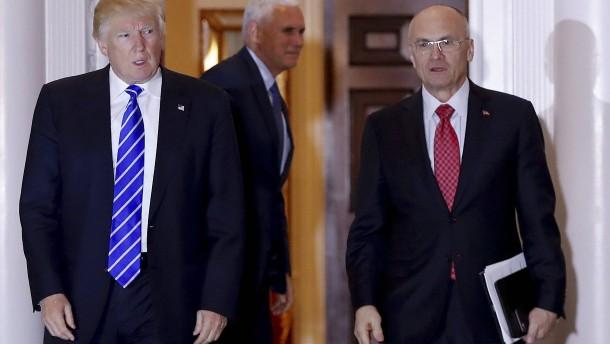 Trumps designierter Arbeitsminister verzichtet auf Amt