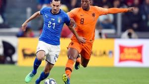 Italien und Niederlande trennen sich unentschieden
