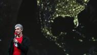 Die Welt dreht sich mal wieder um das Silicon Valley: Larry Page auf der Entwicklerkonferenz von Google
