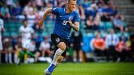 19 Spiele, 20 Tore: Erik Sorga ist für den FC Flora Tallinn im estnischen Ligabetrieb eine verlässliche Größe.