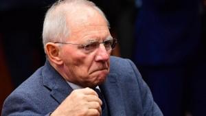 EU-Kommissarin lehnt Schäubles Pläne ab
