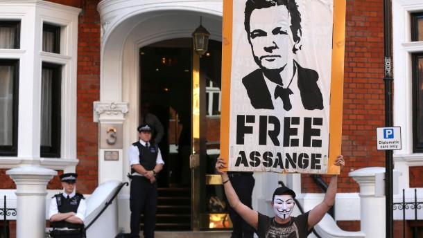 Assange spaltet Amerika