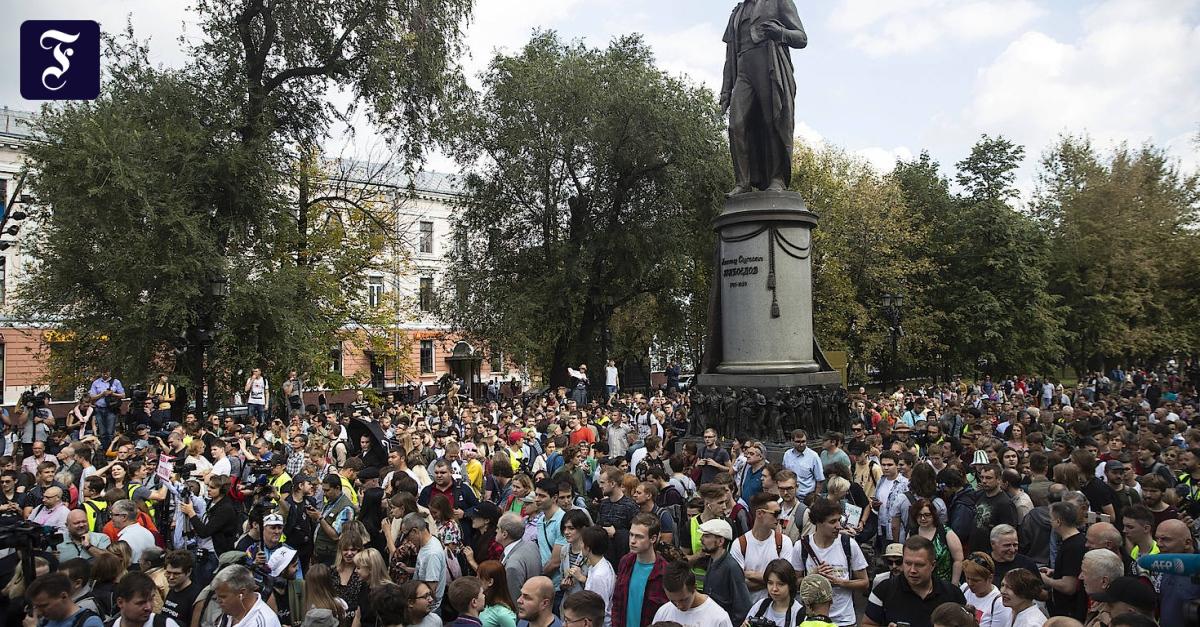 Kommunalwahlen in Russland: Hinter den Kulissen herrscht Nervosität
