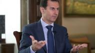 Assad: Waffenruhe? Diese Möglichkeit gibt es nicht