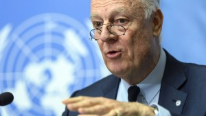 Syrische Regierung und Opposition treffen direkt aufeinander