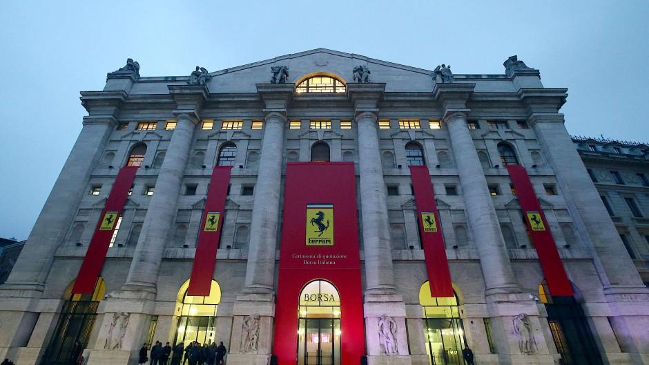 Die Mailänder Börse: das Herz des italienischen Finanzmarkts