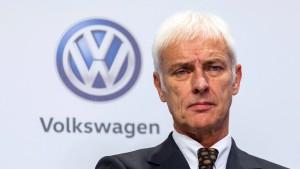 Staatsanwälte leiten Ermittlungen gegen VW-Chef Müller ein