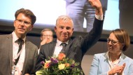 Fährt sein bestes Ergebnis ein: CDU-Landesvorsitzender Thomas Strobl