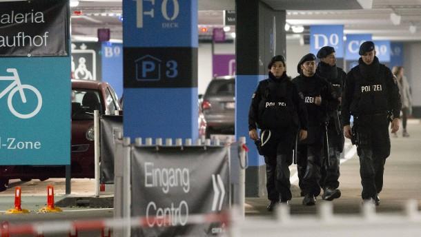 Polizei verhindert möglicherweise Anschlag in Oberhausen