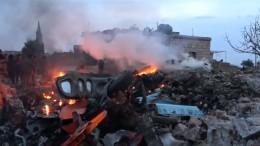 Rebellen schießen russisches Kampfflugzeug ab