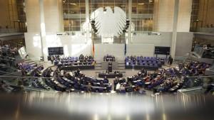 Union und FDP beschließen neue Transparenzregeln