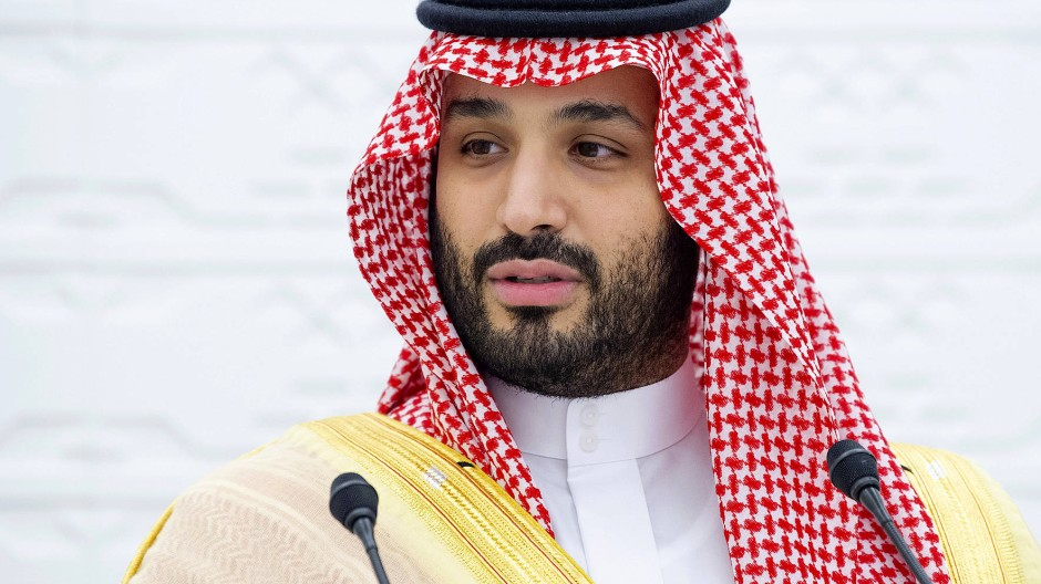 Der saudische Kronprinz Muhammad Bin Salman am 22. November während des von Riad ausgerichteten G-20-Gipfels