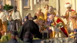 Frau versucht Jesus zu stehlen