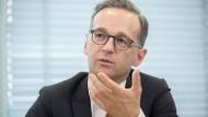 Maas will Gewalt gegen Polizisten härter bestrafen