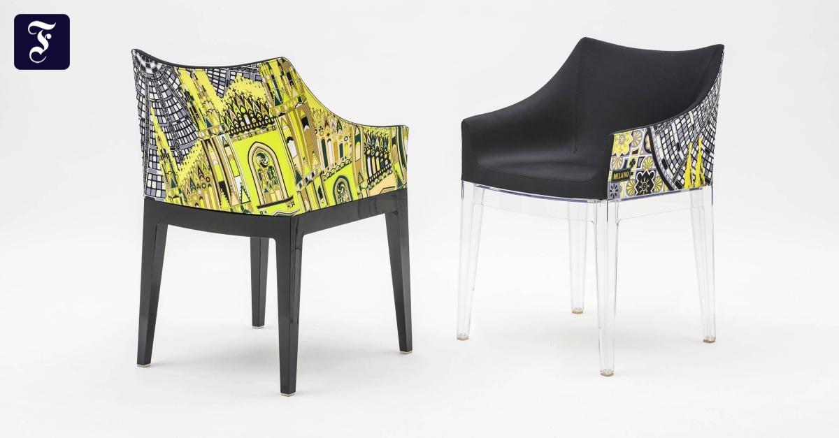 Sessel vom jeanshersteller m bel vom modedesigner for Modedesigner frankfurt