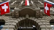 Verlangt von Großkunden eine Guthabengebühr: Die Credit Suisse aus der Schweiz