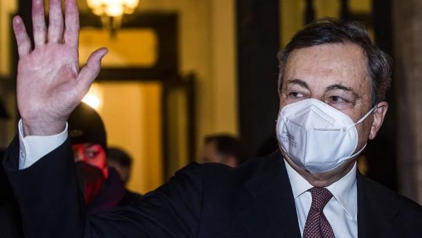 Draghi gewinnt Vertrauensabstimmung mit großer Mehrheit