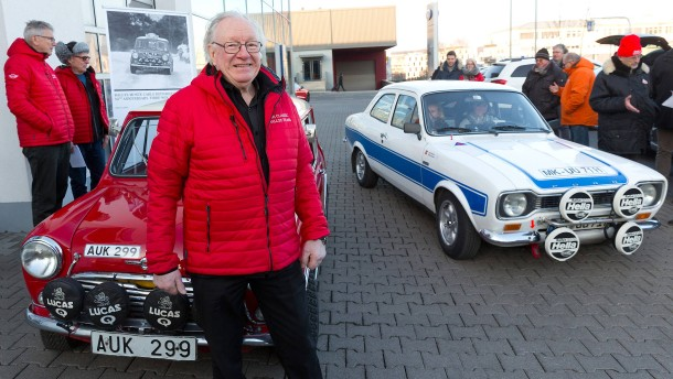 Rallye Monte Carlo Historique mit Raulo Aaltonen