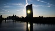 Das Gebäude der EZB in Frankfurt.