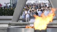 Japan gedenkt der Opfer von Hiroshima