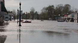 Staudammbruch sorgt für Überschwemmungen