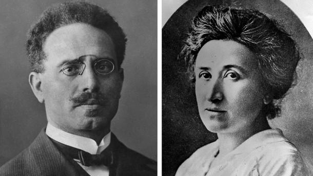 Liebknecht und Luxemburg ermordet
