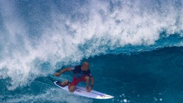 Favoriten-Schreck Kelly Slater
