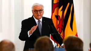 """Steinmeier warnt vor einer """"gefährlichen Entfremdung"""""""