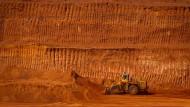 Der Preis sinkt: Für Rio Tinto lohnt sich der Abbau von Eisenerz in der australischen Mine Pibara immer weniger