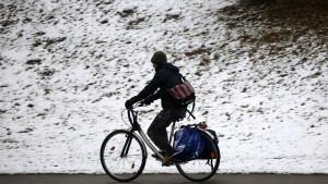 Radeln im Winter ist kein Problem