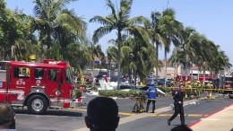 Fünf Tote bei Absturz eines Propellerflugzeugs