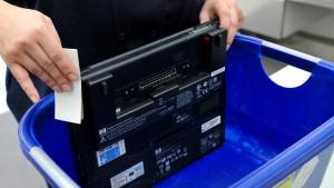 Laptops bleiben auf Flügen nach Amerika erlaubt