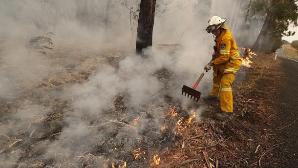 Feuerwehr sauer auf Australiens Premier