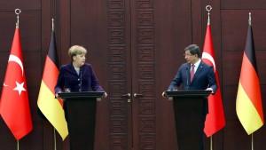 Merkels Wette