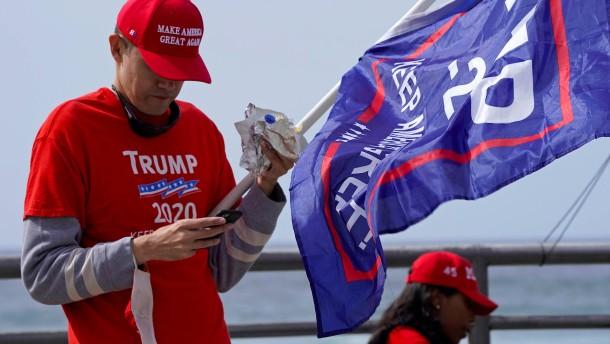 So reagieren Trumps Gegner und Anhänger