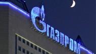 Machtmittel des Kremls: Die Gasprom-Zentrale in Moskau