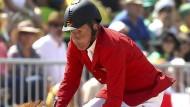 Das war's: Ludger Beerbaum bei seinem letzten olympischen Auftritt