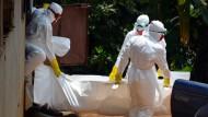 Über 20.000 Ebola-Infizierte bis November erwartet