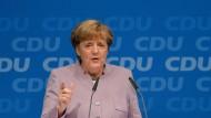 Merkel will keine Mäkelpartei