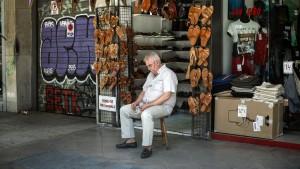 Griechischer Einzelhandel leidet unter Reformen