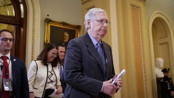 Republikaner verhindern Zeugenbefragung im Senat