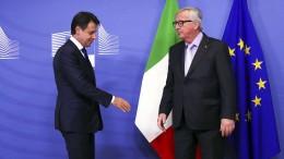 Rom lenkt im Haushaltsstreit mit EU ein