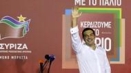 Tsipras wird noch am Montag vereidigt