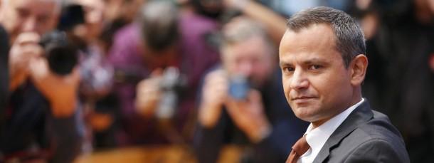 """""""Es tut mir aufrichtig leid"""": Sebastian Edathy am Donnerstag bei einer Pressekonferenz in Berlin"""