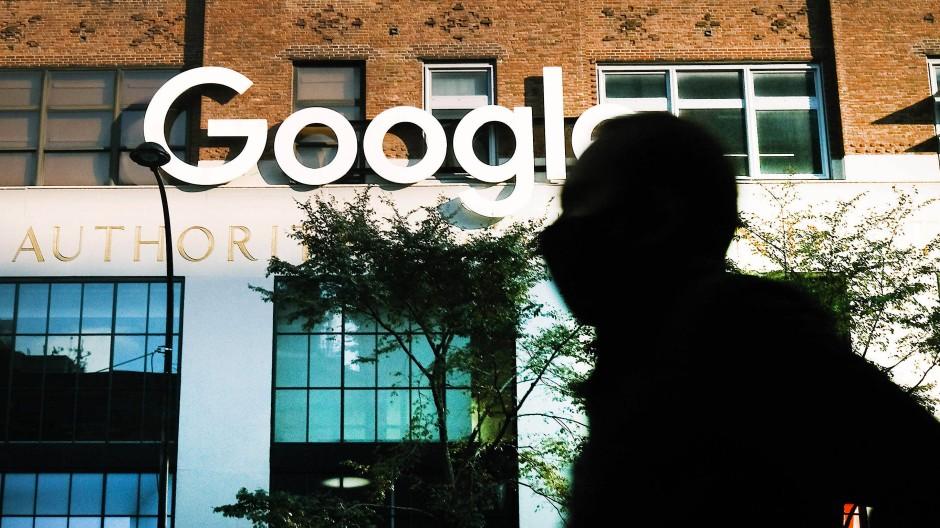 Ein Büro von Google in Manhattan
