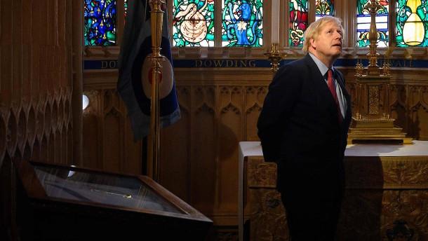 Johnson erinnert an Kriegsende vor 75 Jahren