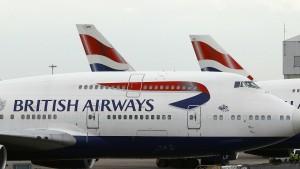 British Airways fliegt heute nicht immer